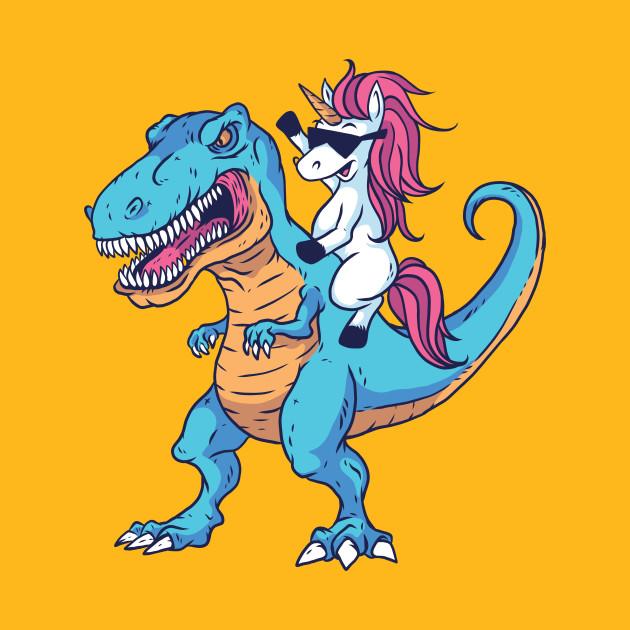 Unicorn T-rex