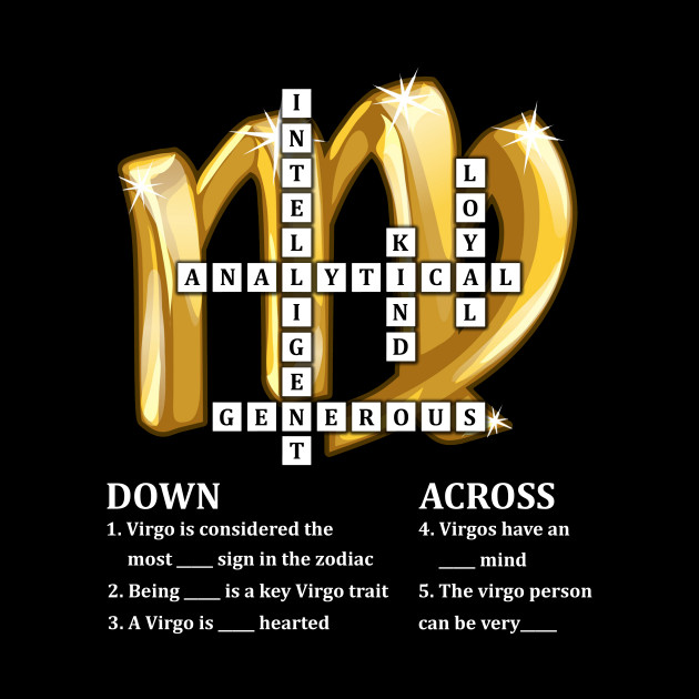 Virgo Birthday Zodiac Traits Crossword Sign