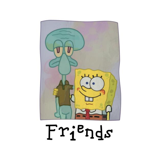SpongeBob SquarePants - Vintage SpongeBob & Squidward