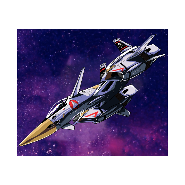 VF-4 Lightning III (w/ background)