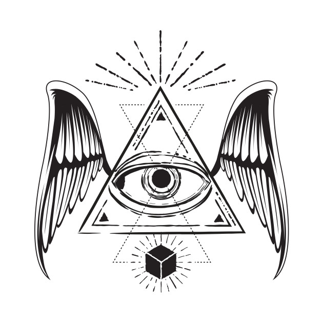 All Seeing Eye With Wings
