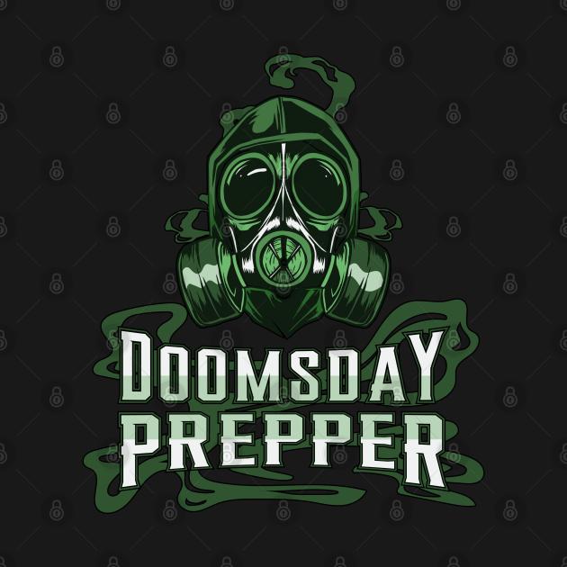 Prepper Survival Doomsday Gas Mask Prepping Gift