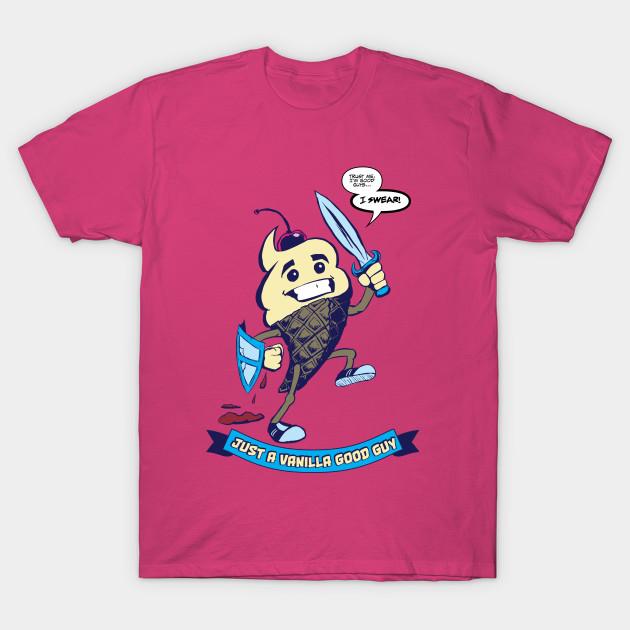 Just A Vanilla Good Guy Avalon TShirt TeePublic - Good guy shirt
