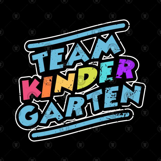 Team Kindergarten Guidance Teacher Educator Gift
