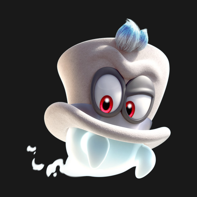 Cappy the Ghost Hat