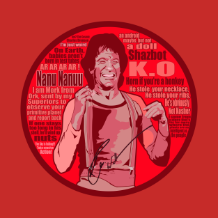 Mork quotes t-shirts