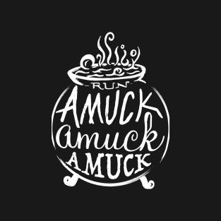 Amuck t-shirts