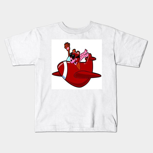 532aef2a74eb Flying - Airplane - Kids T-Shirt