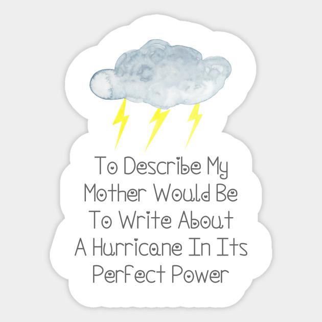describe my mother