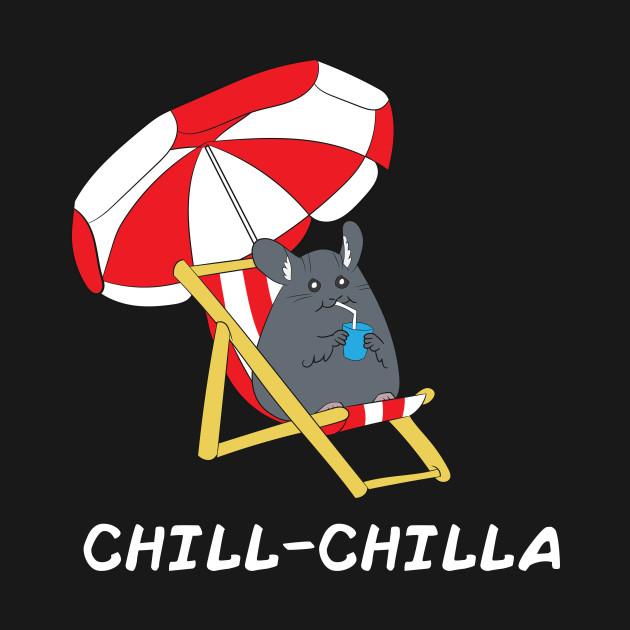 Chinchilla Funny Gift Men Women Kids
