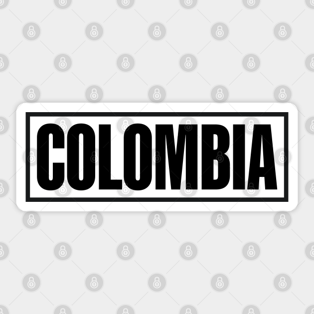 Colombia Sticker Country Sticker