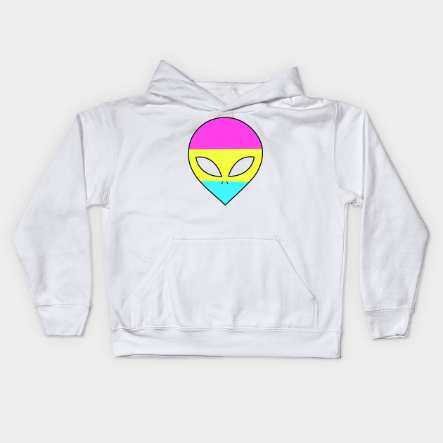 c57d109d7 Pride Alien (Pan Pride) - Lgbt - Kids Hoodie | TeePublic