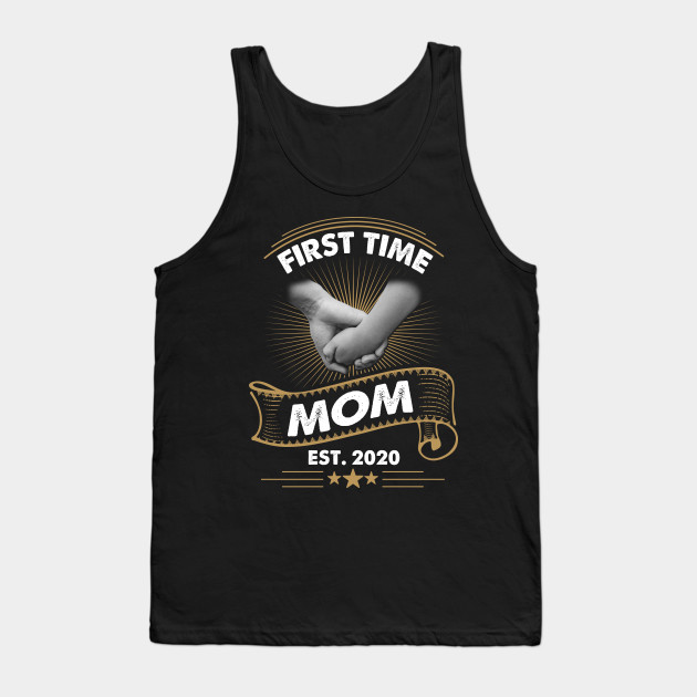 Best Gifts For Mom 2020 First Time Mom Est 2020 Shirt Mother's Day Gift For Mom   Funny