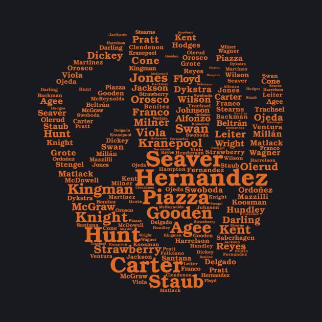 Mets Greats Glove (Orange)
