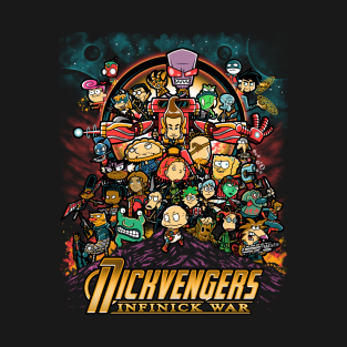 Infinick War t-shirts