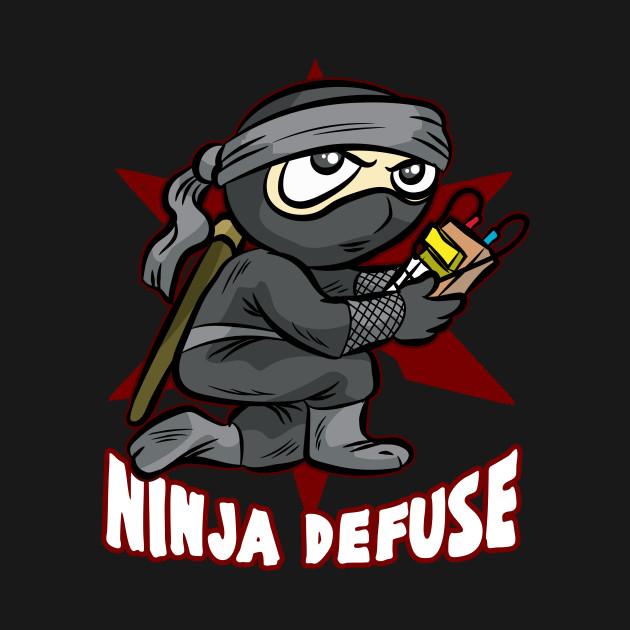 NINJA DEFUSE Pro Gamer Gaming Bomb CS Go Terrorist