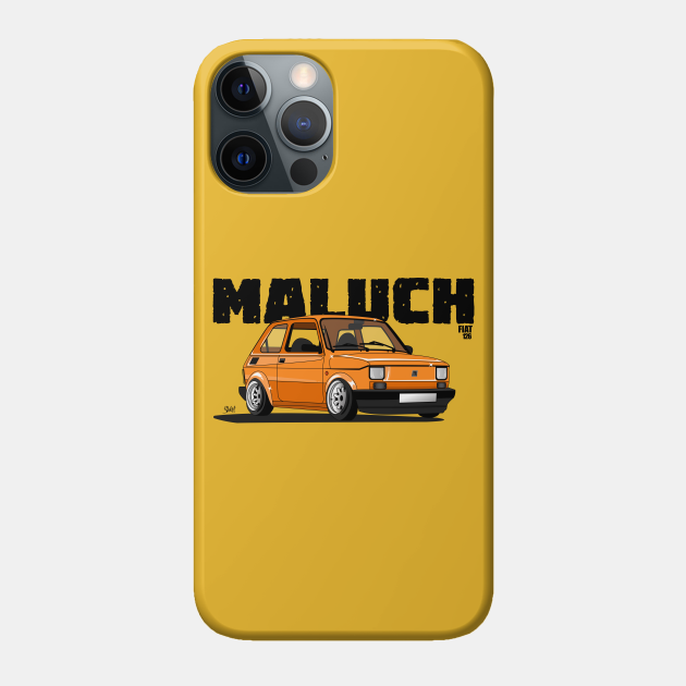 Fiat 126p Maluch Orange