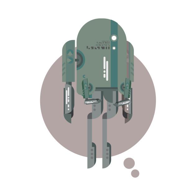 Robot Matte Silver