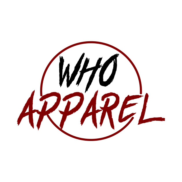 WHO Apparel (Black/Red)