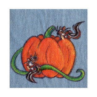 Pumpkin Patch Chipmunks