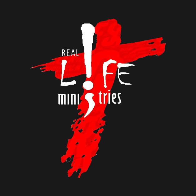 Real Life Ministries Church Logo White