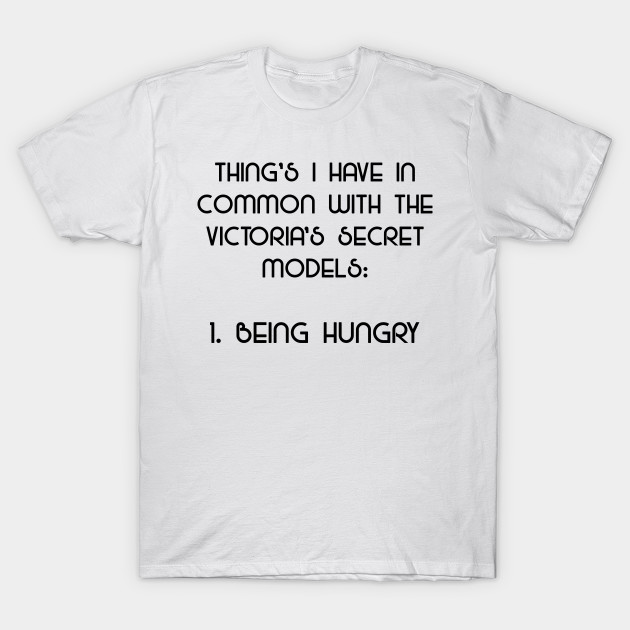 Being Hungry - What I Have In Common With Models