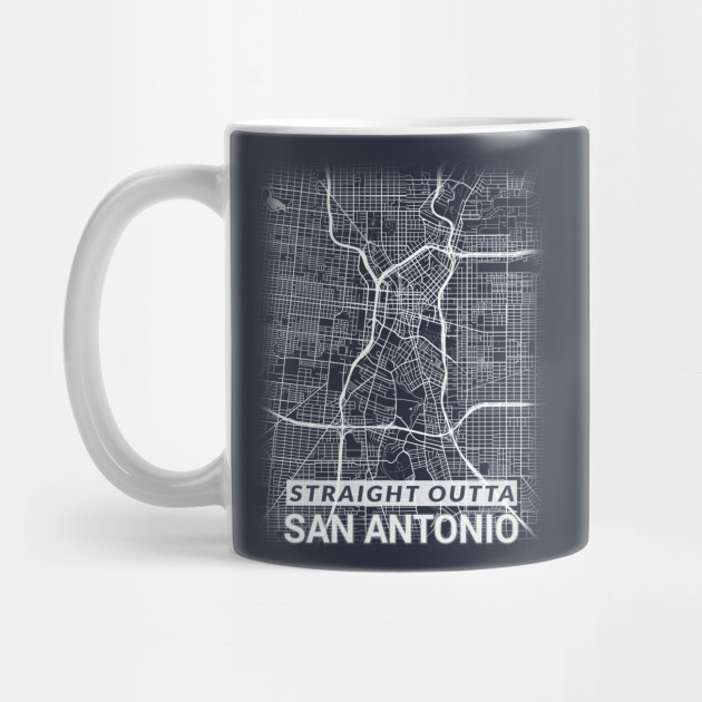 Downtown San Antonio Map on