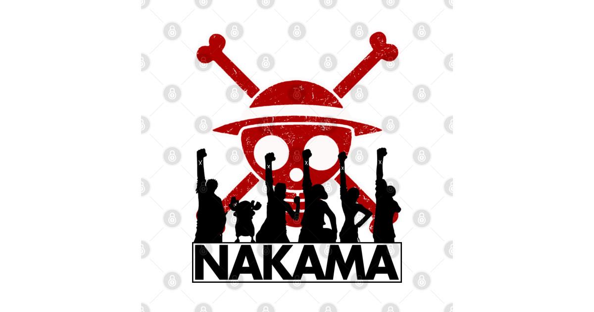 Nakama - One Piece - T-Shirt | TeePublic