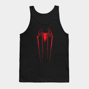 349e180bbc2a6a vintage Spiderman Logo Tank Top