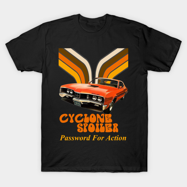1970 Mercury Cyclone American Muscle Car Classic Design Tshirt NEW