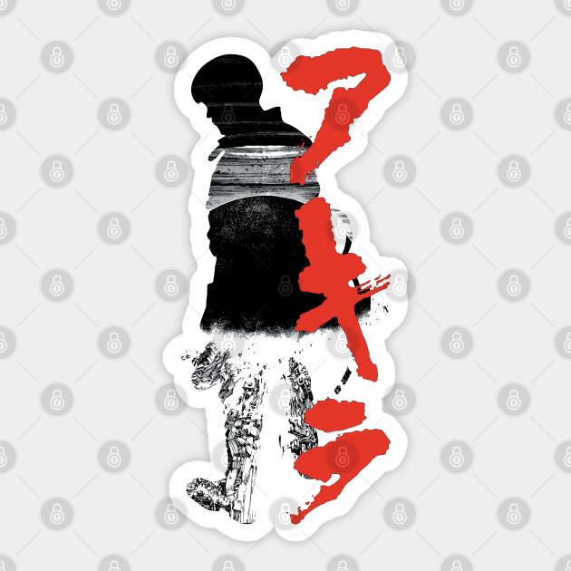 Neo Tokyo Explosion Akira Akira Sticker Teepublic Au