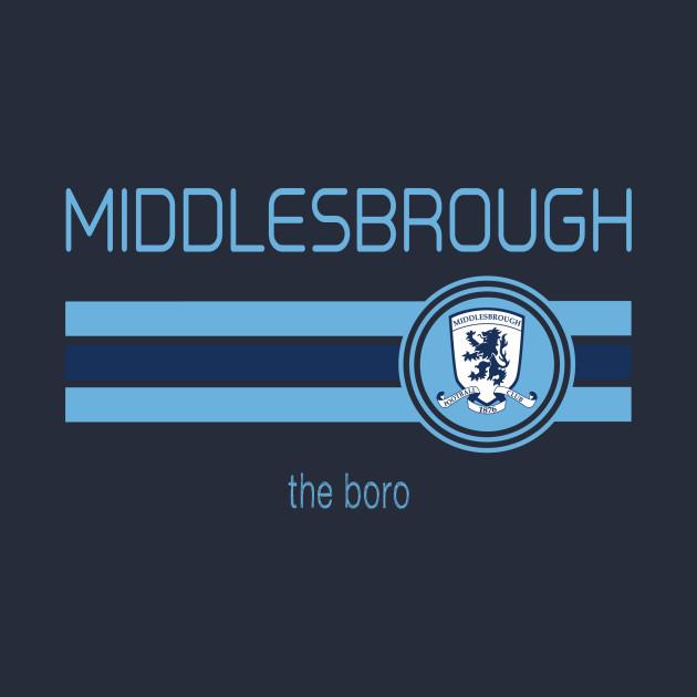 Football - EPL - Middlesbrough (Away Navy)