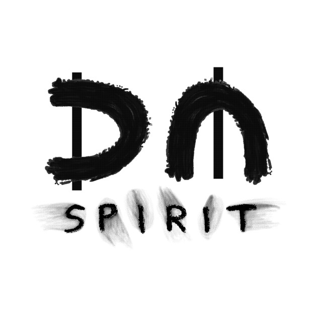 depeche mode : spirit black - spirit - t-shirt | teepublic
