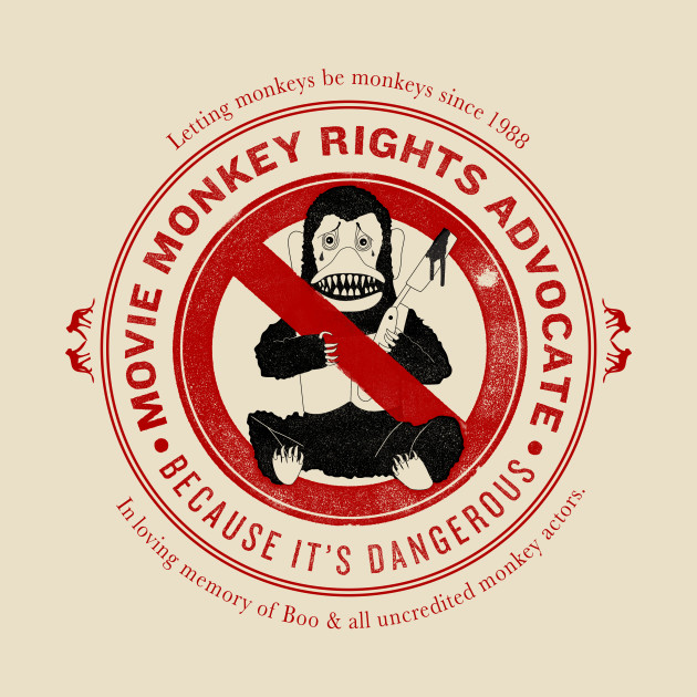 Movie Monkey Rights Advocate