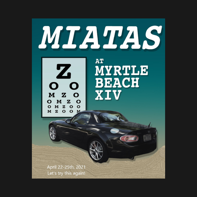 Miatas at Myrtle Beach XIV
