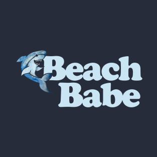 Beach Babe Shark t-shirts