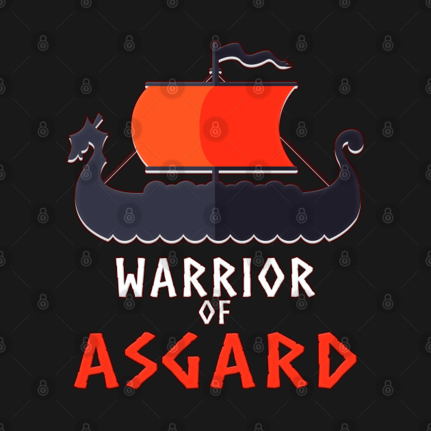 Warrior of Asgard T-Shirt for Norse Valhalla and Thor lovers