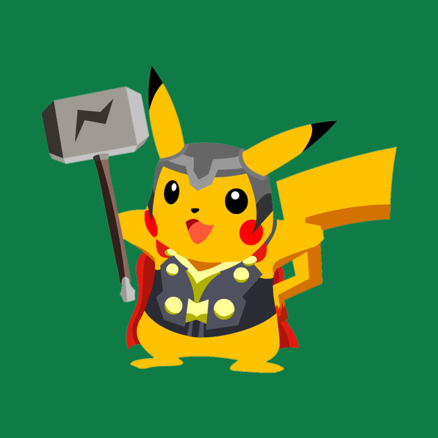 Pikachu Thor