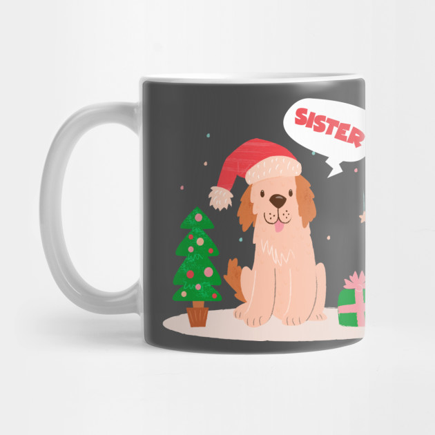 Christmas Gifts For Sister.Funny Sister Christmas Sweatgift Cute Xmas Gifts By Amatees