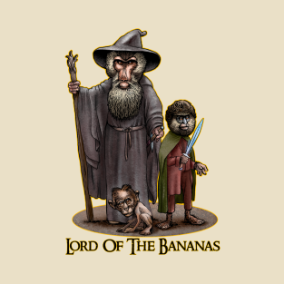 Lord of the Bananas t-shirts