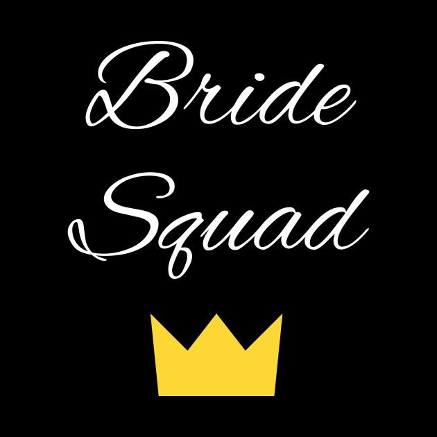 Womens Bride Squad Bachelorette Party