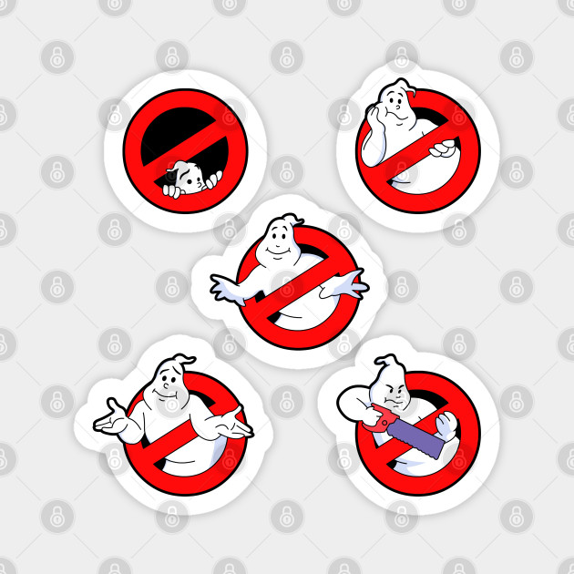 And Now Back To The Real Ghostbusters Logos