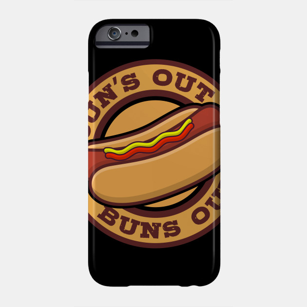 Hotdog Sun's Out Buns Out Gifts For Hot Dog Lovers Phone Case