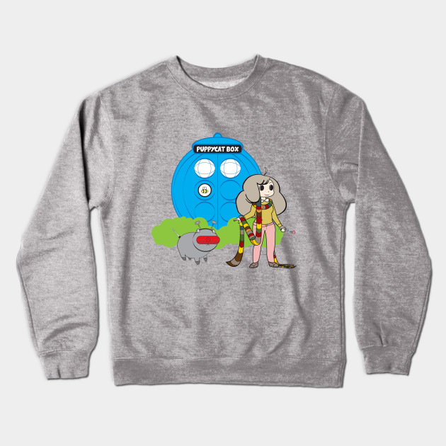 Bee And Puppycat Timey Wimey Edition Doctor Who Crewneck