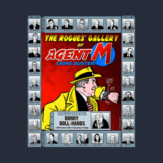 The Rogues' Gallery of Agent M