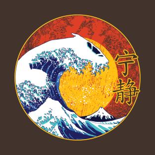 Waves Of Serenity t-shirts