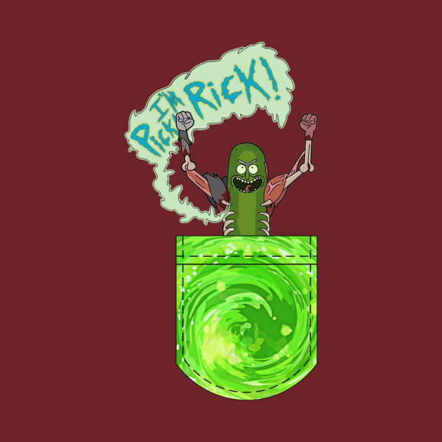 i,m pickle rick !!!!