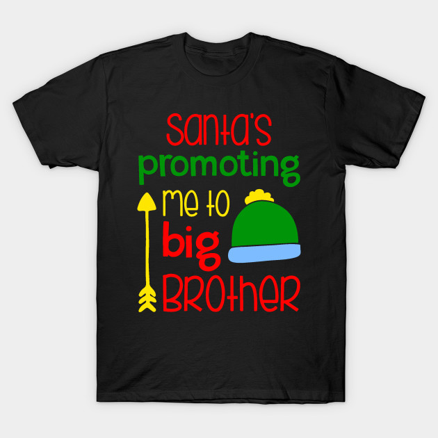 Big Brother Christmas Pregnancy Announcement Shirt Sibling Holiday