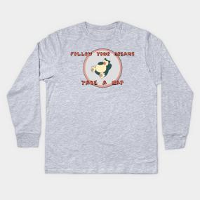 4f408b1a Follow Your Dreams Kids Long Sleeve T-Shirt
