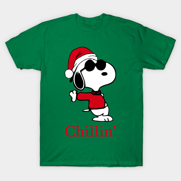 95005135518 Snoopy Joe Cool Is Chillin  this Christmas - Snoopyjoecool - T-Shirt ...